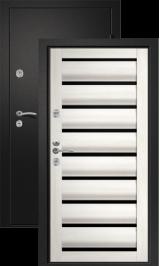 Тепло-дверь Н-22 Сидней, Черный шелк металлическая входная дверь