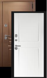 Лина софт белый с терморазрывом металлическая входная дверь