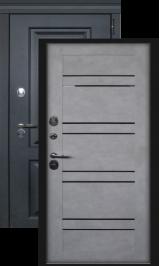 Лайн бетон снежный с терморазрывом металлическая входная дверь