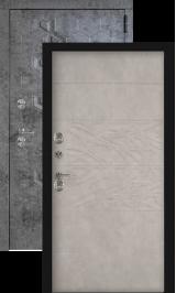 Робо софт грей с терморазрывом металлическая входная дверь