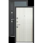 SIGMA COLOR Темно-серый муар Перламутр белый металлическая входная дверь