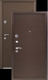 Стел Металл (антик медь-антик медь) металлическая входная дверь