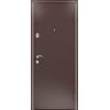 SUPER Delta 07 капучино орех металлические входные двери в квартиру установка и доставка в подарок