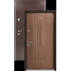 SUPER Delta 07 орех металлическая входная дверь