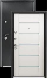 ULTIMATUM MP чёрный шёлк Шамбори светлый металлическая входная дверь