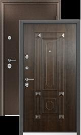 ULTIMATUM MP полимер медь Орех грецкий металлическая входная дверь