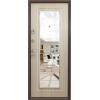 SUPER Delta Mirror антик медь Венге светлое металлическая входная дверь