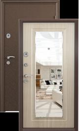Стел 05 (антик медь-бел дуб) металлическая входная дверь 860 пр витрина
