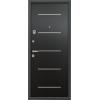 Super Omega 7 чёрный шёлк венге молдинг металлические входные двери в квартиру