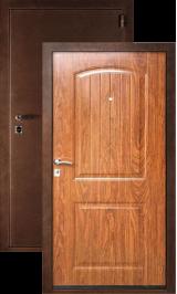 Гамма металлическая входная дверь