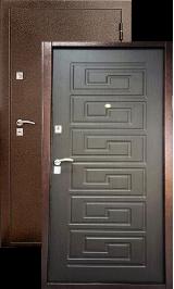 TD-105 (венге) металлическая входная дверь в квартиру установка и доставка в подарок