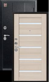 Центурион C-105 царга x7 Черный муар/Лиственница светлая металлическая водная дверь