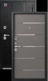 Центурион с-108 Серый муар/Софт серый металлическая входная дверь