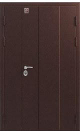Центурион С-130 мет/мет двухстворчатая металлическая водная дверь