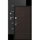 Легион L-2, черный шелк-венге металлическая входная дверь