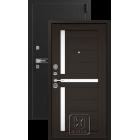 Легион L-3, черный блеск-венге металлическая входная дверь