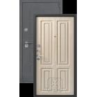 Легион L-5, серый блеск-седой дуб металлическая входная дверь