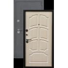 Легион L-5, серый блеск-лен светлый металлическая входная дверь