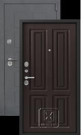 Легион L-5, серый блеск-венге металлическая входная дверь