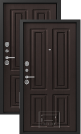Легион L-5, венге-венге металлическая входная дверь