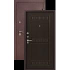 Легион L-6 Шелк бордо (венге) металлическая входная дверь