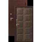 Легион Т-2, медь-тиковое дерево Двойной Терморазрыв металлическая входная дверь
