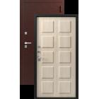 Легион Т-2, серебро-седой дуб Двойной Терморазрыв металлическая входная дверь
