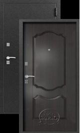 Сибирь S-1/1, Венге металлическая входная дверь