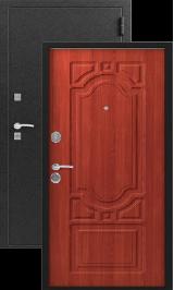 S-7, черный шелк-итальянский орех металлическая входная дверь
