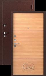Сибирь S-1, ольха металлическая входная дверь