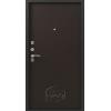 Сибирь S-1, серебро-Венге металлическая входная дверь 860 пр витрина