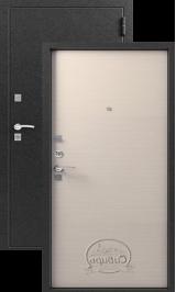 Сибирь S-1 , серебро-Лен светлый металлическая входная дверь