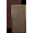 Зевс Супер эконом 1 замок, Металл-Металл металлическая входная дверь