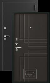 Зевс Z-2 Черный шелк, Венге металлическая входная дверь