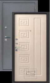 ЗЕВС, Z-4, СЕРЕБРО-МЛЕЧНЫЙ ДУБ металлическая входная дверь