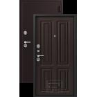 Зевс Lux-6 (Z-6) Центурион шелк бордо-венге шелк металлическая входная дверь