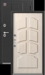 Зевс Т-4 Центурион серебро-седой дуб Двойной Терморазрыв металлические входная дверь