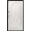 Легион L-6, черный шелк-монблан, шпон металлическая входная дверь 860 пр витрина