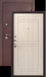 Легион L-6, шелк бордо-седой дуб металлическая входная дверь