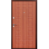 Зевс S-2,  Медь - итальянский орех металлическая входная дверь