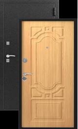 S-7, черный шелк-миланский орех металлическая входная дверь