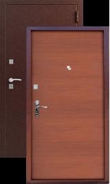 Сибирь S-1, Медь-Берёза металлическая входная дверь