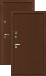 Зевс Т-3 Двойной Терморазрыв металлическая входная дверь