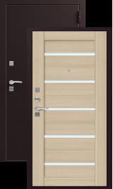 ЗЕВС Z-3, КАПУЧИНО металлическая входная дверь