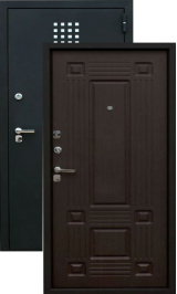 Зевс Z-5, Черный шелк-венге металлическая входная дверь