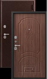 Зевс Z-6 медь-орех металлическая входная дверь