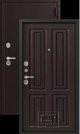 Зевс Z-6 шелк бордо-венге шелк металлическая входная дверь