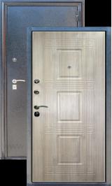 Зевс Z-6 Серебро-Седой дуб металлическая входная дверь