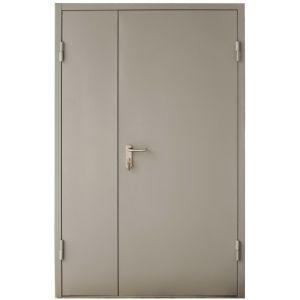 Противопожарная дверь Е 60, Проем 1340*2100 двустворчатая  (На заказ от 1 недели)