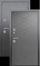 Termo S6 Антик серебро/Серый бетон металлическая входная дверь